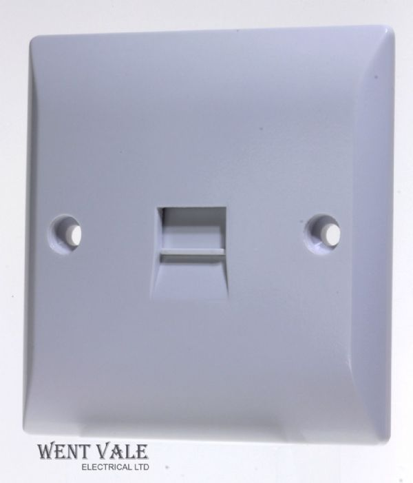 Super Switch - Silk Range - SW31 - 1g Secondary Telephone Socket Outlet New